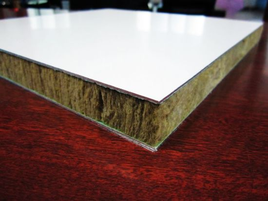 25mm Rock Wool & Honeycomb Composite Panel pictures & photos