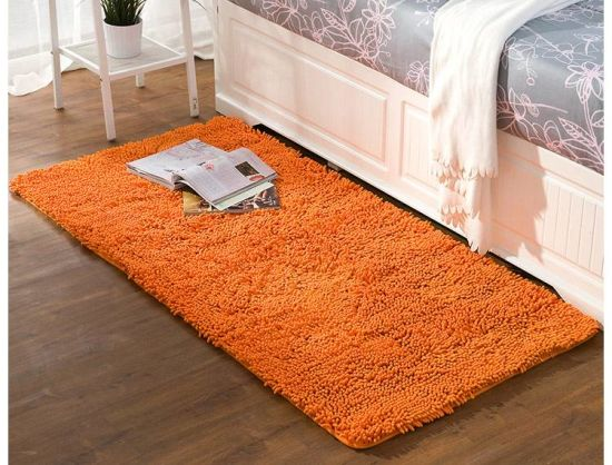China Wholesale Chenille Office Chair Plastic Floor Mat China