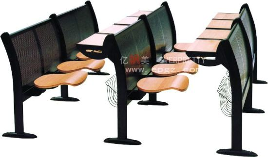 China Cheap University Student Chair College Chair Wooden Step