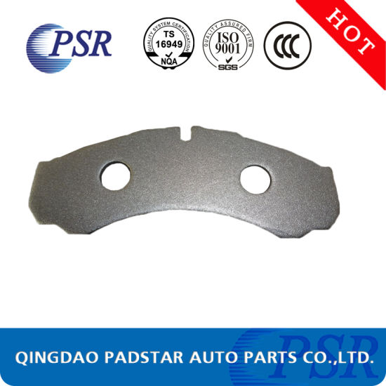 Truck Brake Pads Welded Mesh Back Plate Q235 Steel for Mercedes-Benz pictures & photos