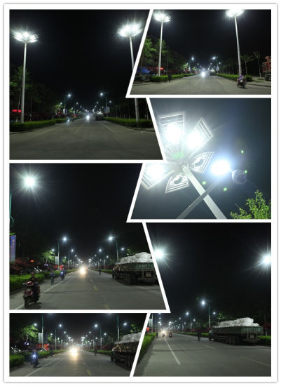 on Sale 80W-120W LED Outdoor Street Lights with CREE Chips and Meanwell Driver pictures & photos