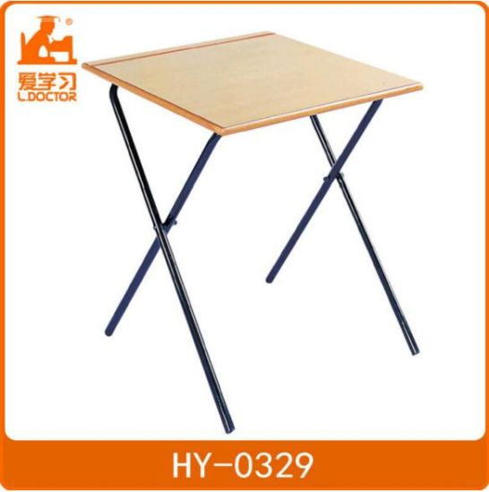 Student Studying Desk with Chair of Classroom Furniture