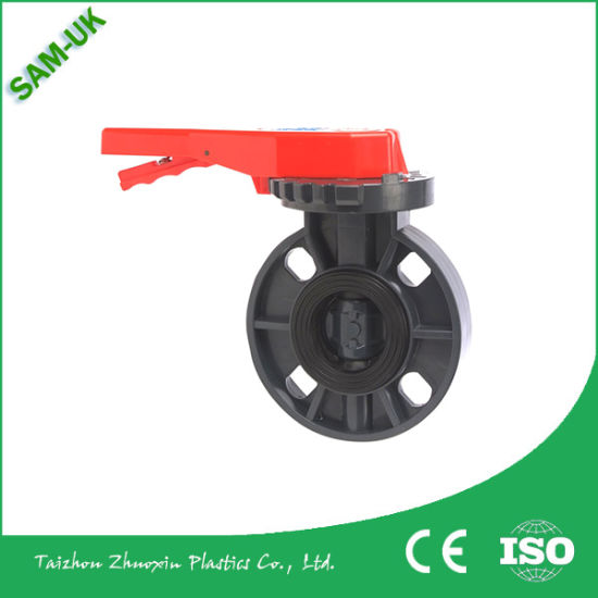 Plastic Material PVC Ball Valve for Supply Water pictures & photos