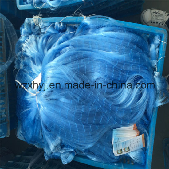 0.18mmx34mmsqx50mdx2000ml Nylon Monofilament Fishing Net pictures & photos
