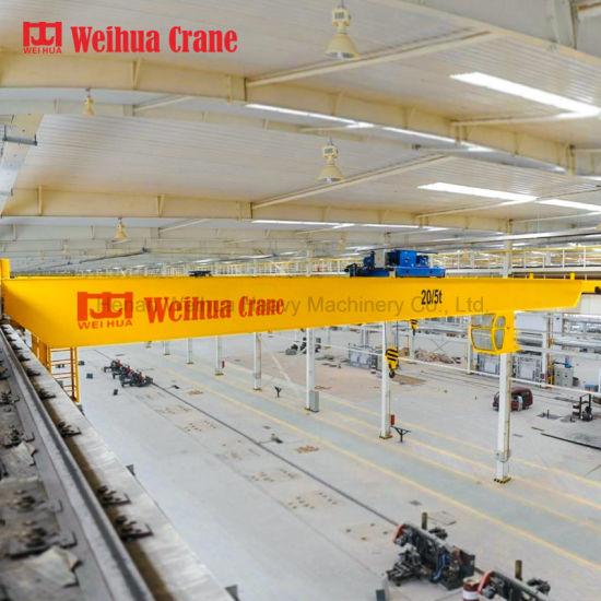 Weihua High Double Girder Electric Bridge Crane 20t