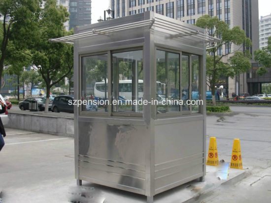 Low Profit Outdoor Mobile Prefabricated/Prefab Guard House for Hot Sale pictures & photos