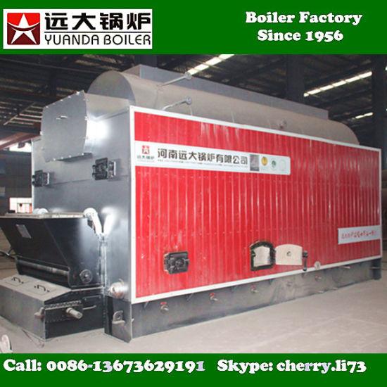 China Pressure 16bar 4000kg 4 Ton Biomass Fired Steam Boiler ...