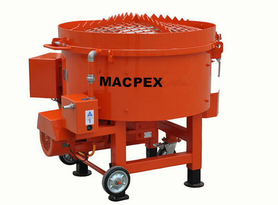 China Pan Mixer for Mortar /Refractory /Castable Materiel