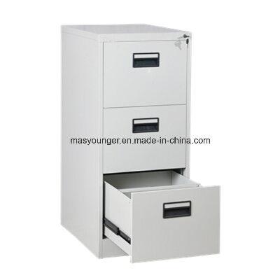 Wholesale Steel Office Metal Powder Coating Furniture Vertical 3 Drawer Filing Storage Cabinet