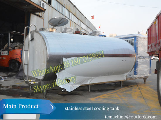 12, 000liter / 12t Fresh Milk Cooling Tank with 24HP Copeland 48, 000kcal Cooling Power pictures & photos