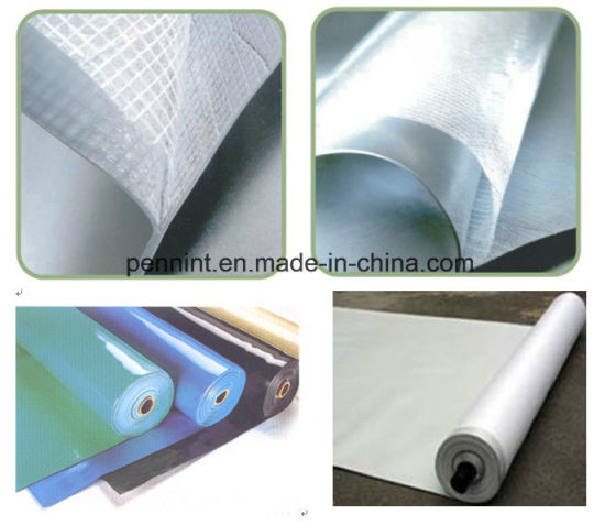 China PVC Waterproofing Membrane for Sing-Ply Roofing System
