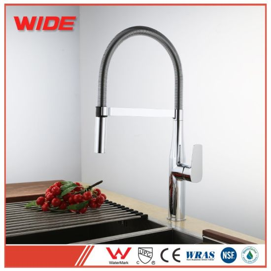 China Color Faucet Copper Kitchen Sink