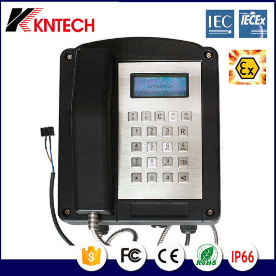 New Resist Tel Iecex Certify Explosion Proof Telephone