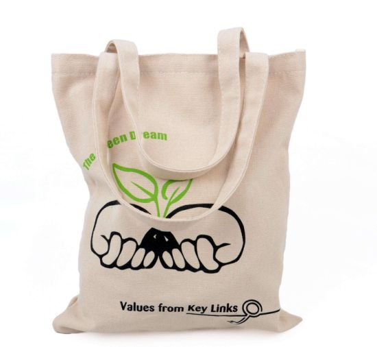 Popular Eco-Friendly Customized Promotion Cotton Bags for Exhibition (FLA-9717)