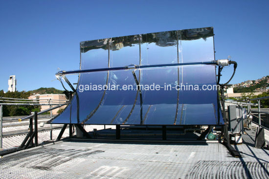 High Quality Parabolic Trough Solar Heating Collector pictures & photos