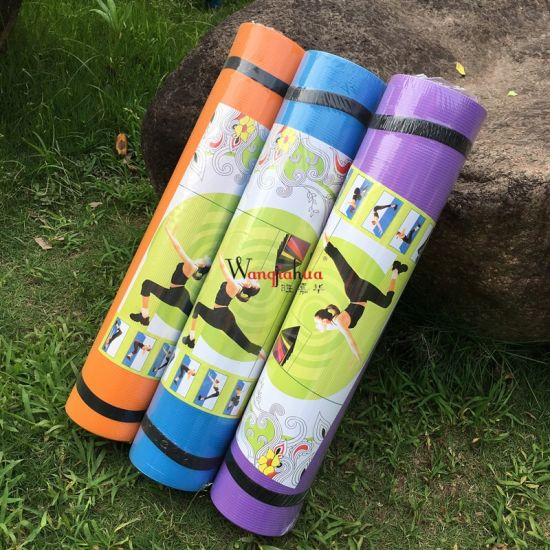 4mm 6mm Colorfull Fitness Yoga Mat Indoor Sport Exercise