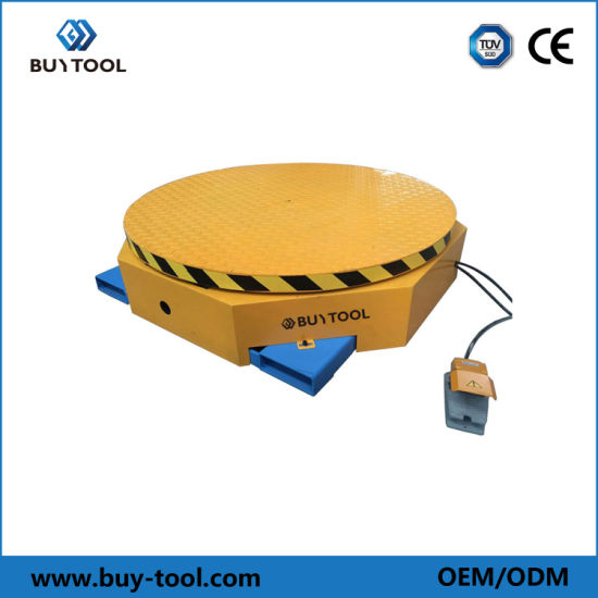 Portable Turnable Table for Packing