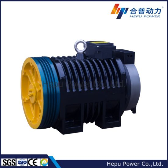 Elevator Spare Parts; Gearless Traction Motor; Elevator Machine for Passenger Elevator; Wtd2-P800; Wtd2-P Series, Disc Brake Type