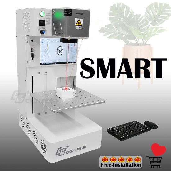 Top Mini Auto Focus Laser Marking Machine for Logo Engraving