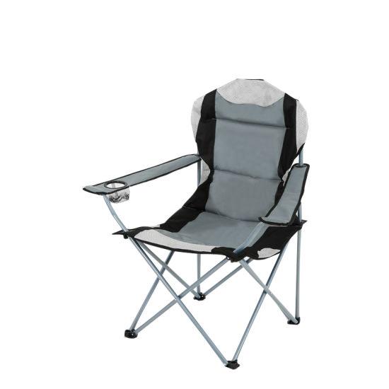 Camp Folding Chair Outdoor Metal, Beach Chair Folding, Outdoor Metal Folding Chair