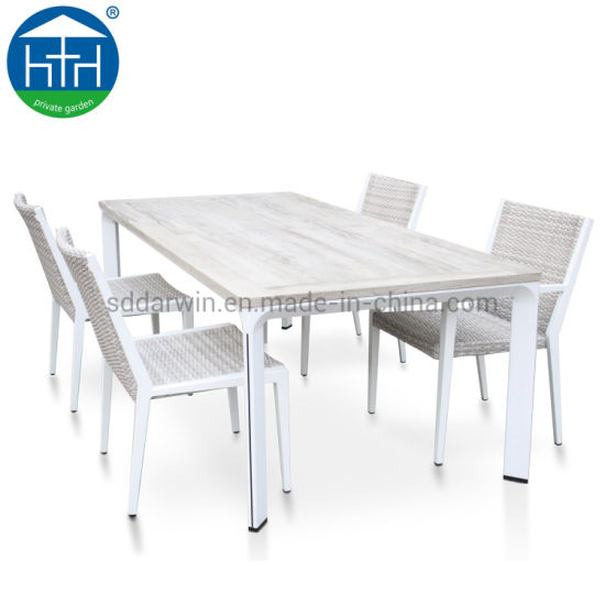 Patio Chair And Table Polywood Aluminum