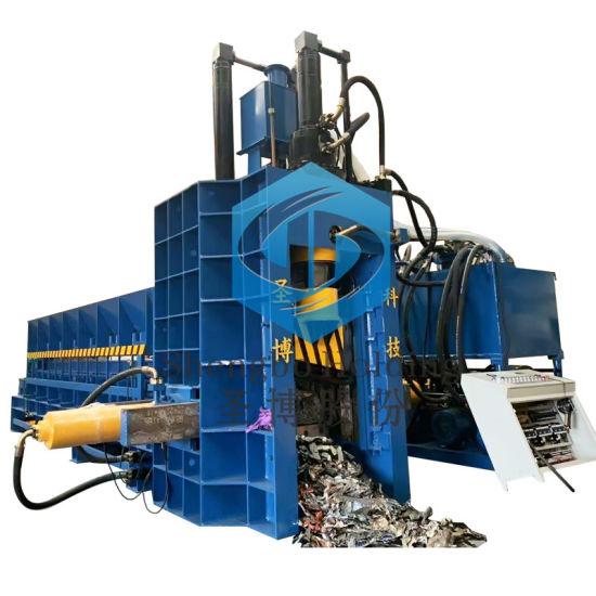 Hydraulic Scrap Metal Shear Automatic Feeding Guillotine Cutter Machinery