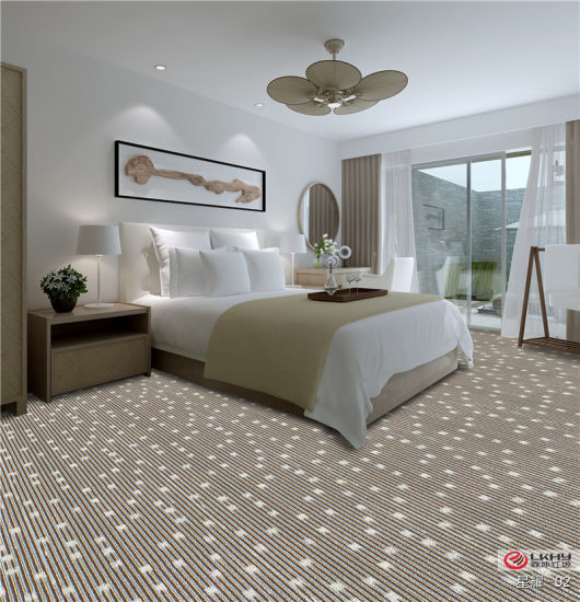 Plain Color Pp Tufted Cheap Wall To Wall Carpet Living Room Carpet Oriental Design Fire Resistance Custom Luxury Wall To Wall Hotel Carpet