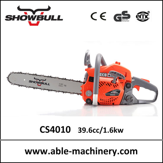 Powerful Chain Saw 40cc CS4010 for Garden Equipment pictures & photos