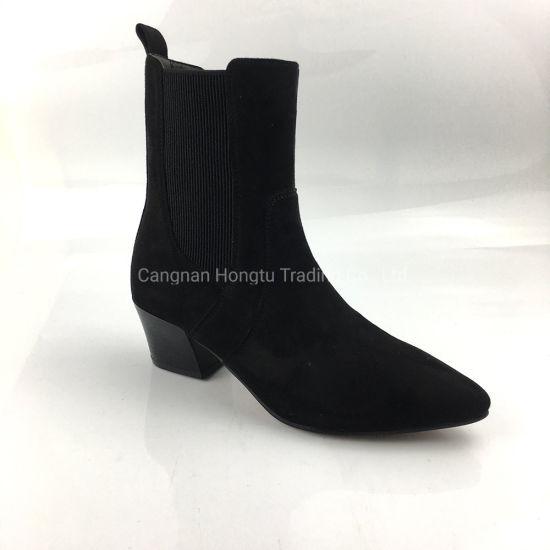 Winter New Rivet Female Zipper Leather Ankle Boots Women