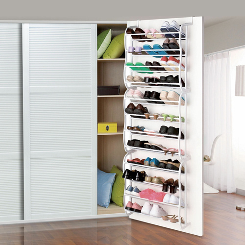 Behind Door Shoe Storage.36pairs Over The Door Shoe Rack China Shoe Rack Shoe