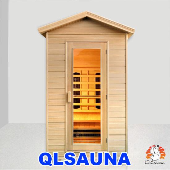 Infrared Sauna Room L2to 2 Person Outdoor Sauna