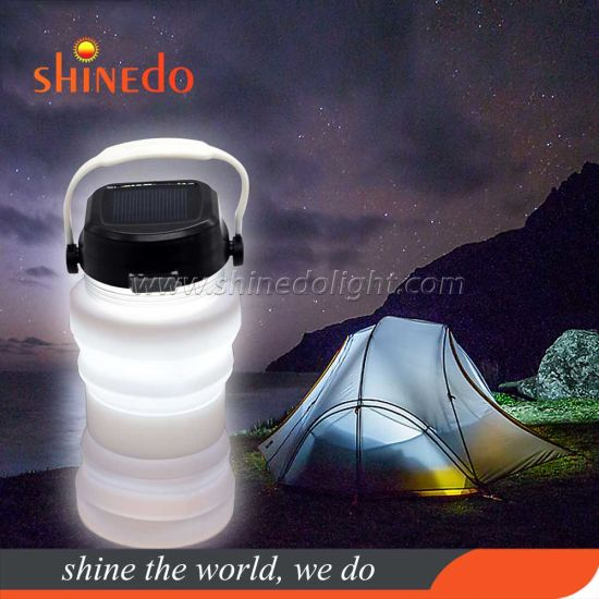Waterproof Solar Camping Lamp Portable Hanging LED Lighting pictures & photos