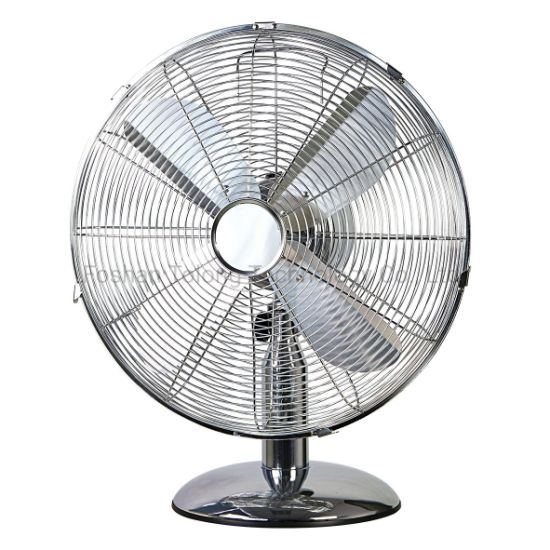 Heavy Duty 12/16 Inch 30 /40cm Metal Table Floor Fan