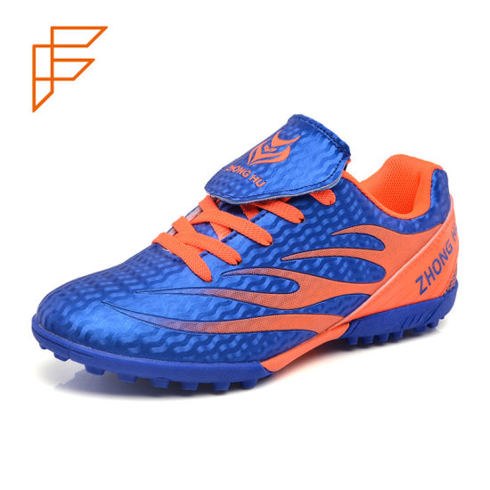 China Product Flat Sole Indoor Football Soccer Shoes for Men