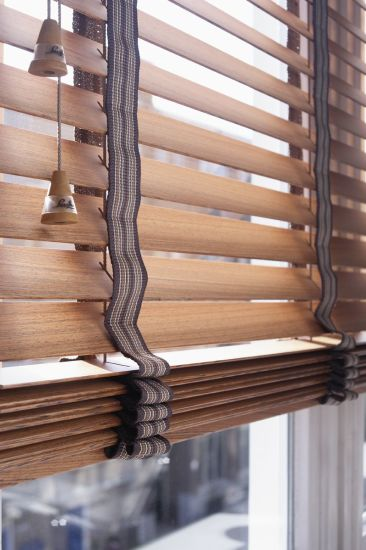 Brown Wooden Blinds & Window Shades at Lowes for Window Decor