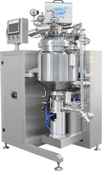 Jrf Seriers Lab Vacuum Homogenizer Cream Mixer Manufacturer