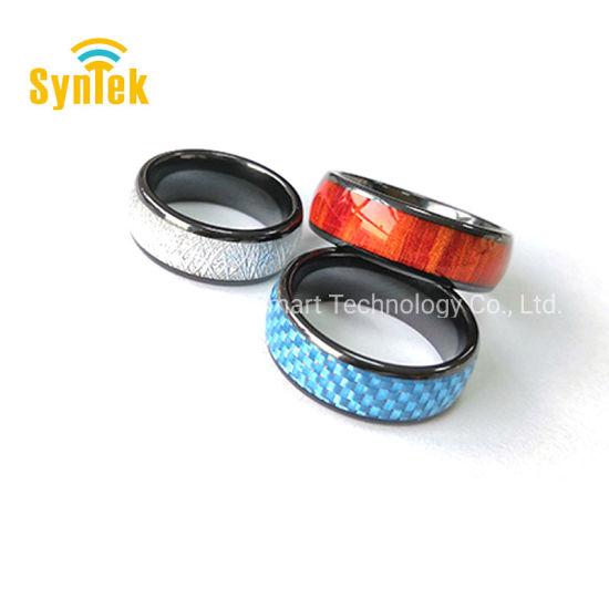 China Universal Titanium Waterproof APP Enabled Smart Ring NFC Smart