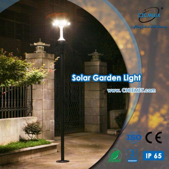 12W All in One LED Solar Garden Light for Outdoor