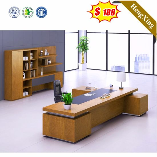 China Modern Design Luxury Boss Office Table Executive Desk Wooden