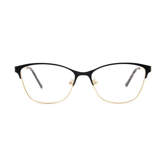 New Hot Blue Light Blocking Computer Glasses Eyewear Stainless Steel Eye Glasses Frames for Women