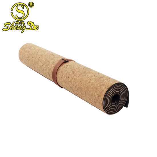 Wholesale Custom Logo Eco-Friendly Natural Cork Yoga Mat