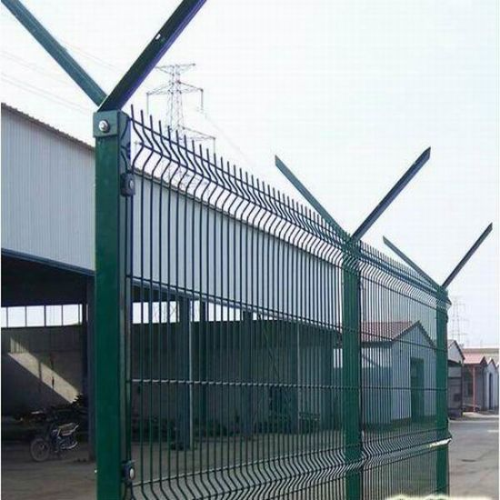 PVC Coated Welded Wire Mesh Fence Metal Fence Panel pictures & photos