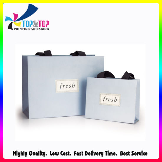 Promotional Paper Gift Bag Kraft Paper Bag Shoe & Garment Carrier Bag Boutique Suit Shopper Bag Fashion Cosmetic Packing & Packaging Bag pictures & photos