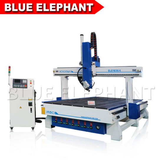 Jinan Blue Elephant Professional New Woodworking CNC 4D 1836 pictures & photos