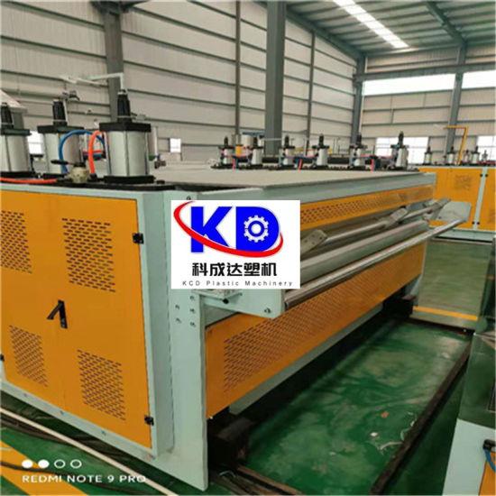 China Manufacturer PVC Plastic Floor Leather Making Machine Line