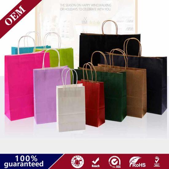 Paper Bags Whosaler Paper Bags Making Machine Made Brown Paper Bags
