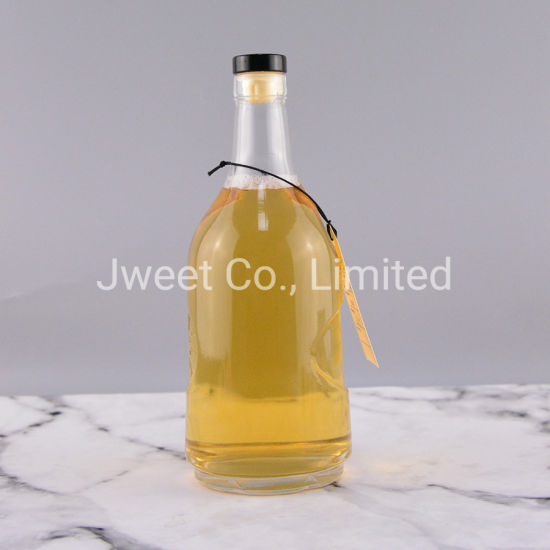 700ml Whisky Beverage Glass Wine Bottle with Cork