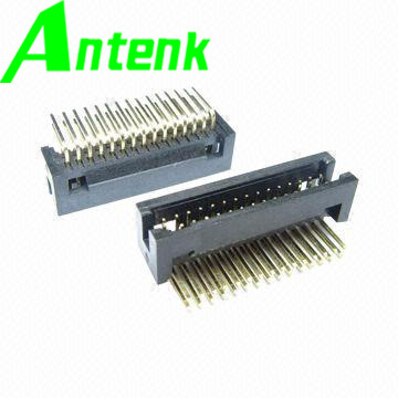 Right Angle, Pin Tail Length Is 2.4/3.0mm, 1.27mm Box Header Connector pictures & photos
