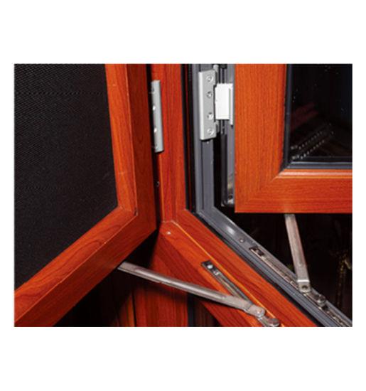 Aluminum Alloy Casement Window in Sunning Room Thermal Breaking Cheap Casement Window