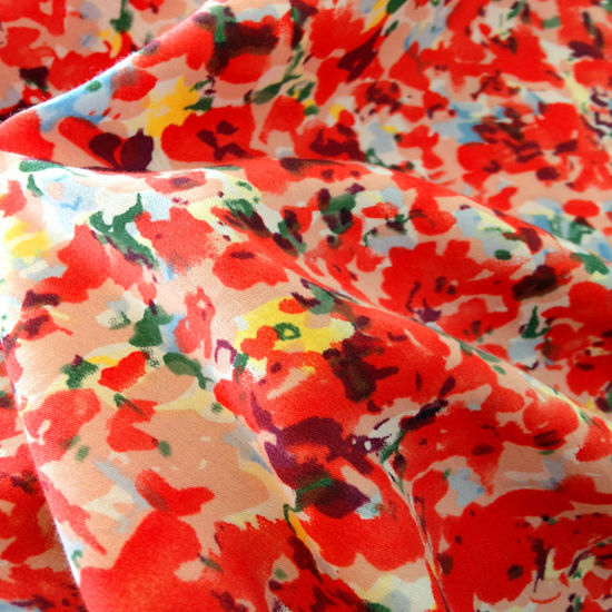 100% Printed Cotton Fabric (XY-20140100C)